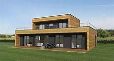 prix kit maison ossature bois maison bois toit plat en kit ossature prix avie home lzzy