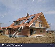 single family dwelling shell house roof solar plant