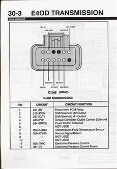 e4od solenoid wiring diagram e4od wiring ford truck enthusiasts