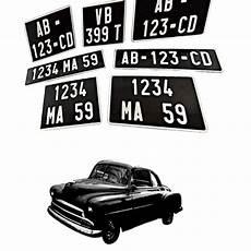 Plaques D Immatriculation Collection Speedimmat