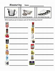 cooking measurement worksheets free 1982 measuring devices teaching skills skills classroom skills lessons