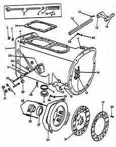 9n ford tractor brake diagram clutch housing parts for ford 9n 2n tractors 1939 1947