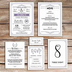 printable lavender diy wedding invitation