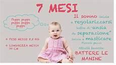 alimentazione un anno neonato 7 mesi peso alimentazione sviluppo e progressi