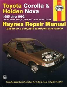 small engine service manuals 1992 bmw 7 series transmission control toyota corolla holden nova 1985 1992 haynes service repair manual sagin workshop car manuals