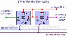 Wire Diagram Power Door Lock by Wire Power Door Lock Systems Add Auto Lock Unlock