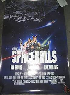 spaceballs original one sheet movie poster mel at s entertainment collectibles