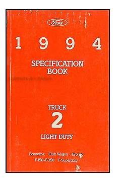 car manuals free online 1994 ford f series navigation system 1994 ford f series pickup truck owner s manual original f150 f250 f350 super duty