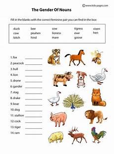 the animals worksheet for grade 1 14270 animals gender welcome to children world of