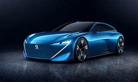 Peugeot Instinct  Concept Driverless Hybrid Car Can Learn