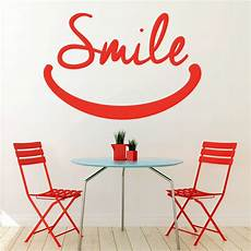 home decor wall decals smile wall sticker inspirational quotes wall decal school