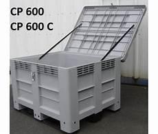 Caisse Paloxe Plastique 1200x1000 Avec Ou Sans Couvercle