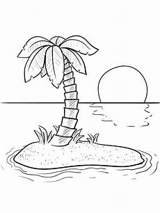 Malvorlagen Urlaub Island Island Coloring Pages And Print Island Coloring