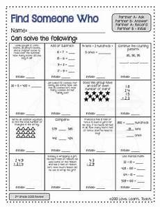 back to school activities 3rd grade math review of 2nd grade standards 3rd grade math third