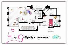 Sitcom Apartment Blueprints by Sitcom Floor Plan Replications Apartment Floor Plans