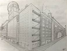 New Project 2 Point Perspective City Ms Lawson S