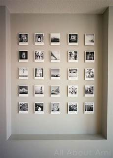 Fotos An Wand Ideen - polaroid travel photo wall for the home polaroid wall
