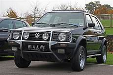 vw golf country syncro before crossovers were cool