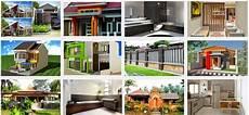 Denah Rumah Sederhana Pedesaan Desain Rumah Minimalis