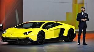 Lamborghini Aventador LP 720 4 50&176 Anniversario Debuts At