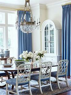 dated tuscan home transforms with blue and white decor laurel home