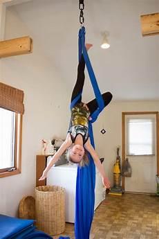 our diy aerial silks rig aerial silks diy gymnastics