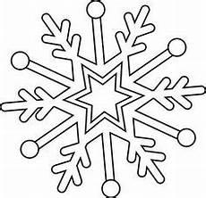 ausmalbild schneeflocken und sterne schneeflocke 17