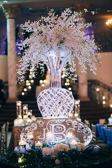 Wedding Sculpture Ideas ballroom wedding with lots of sparkle southern