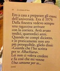 citazione albachiara vasco citazioni di canzoni albachiara citazioni parole e riflessioni