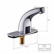 Mischbatterie Bad Sensor - infrarot sensor armatur bad waschtisch wasserhahn