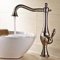 Wasserhahn Für Aufsatzwaschbecken - facaig wasserhahn messing antik bad armatur retro bambus