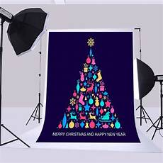 5x7ft Vinyl Merry Happy Year by Mohome Polyester Fabric 5x7ft Backdrops Merry