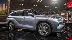 2020 toyota highlander 2020 toyota highlander look new york auto show