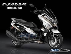 Modif Simpel Nmax by Striping Yamaha Nmax Modifikasi Striping Modif