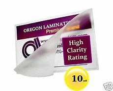laminating pouches 2 3 8 3 5 8 driver s license pk of 500 10 mil clear 33816036505 ebay