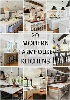 Kitchen Decor Fixer by 20 Modern Farmhouse Kitchen Ideas Ideas From A Blissful