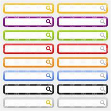 search clipart simple design of website search field with magnifier icon