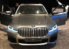 bmw 7er facelift 2019 bmw 7 series facelift reveals its front facade in a