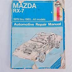 automotive service manuals 1985 mazda rx 7 transmission control mazda rx 7 haynes 1979 thru 1985 automotive repair manual ebay wish list repair manuals