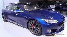 tesla model s p90d 2016 tesla model s p90d exterior and interior walkaround 2015 frankfurt motor show