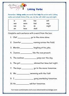 grade 3 grammar topic 14 helping verbs worksheets lets share knowledge