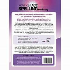 ace spelling dictionary worksheets 22366 product education