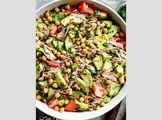 easy  and tasty  tuna salad for one_image