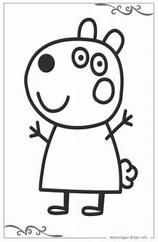 Peppa Wutz Malvorlagen Bilder Peppa Wutz Malvorlagen Und Ausmalbilder Als Vorlage F 252 R Kinder