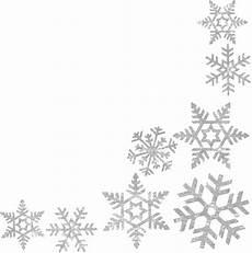 Background Free Snowflake Border Transparent
