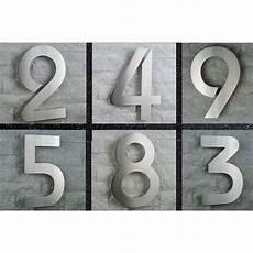 hausnummer edelstahl nr 8 h20cm itc bauhaus 2d v2a 0 1 2 3