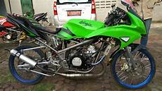 Modifikasi Rr by Modifikasi Kawasaki Rr Hijau 2013 Knjj