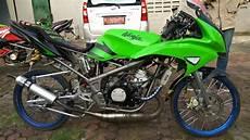Modifikasi Kawasaki Rr by Modifikasi Kawasaki Rr Hijau 2013 Knjj