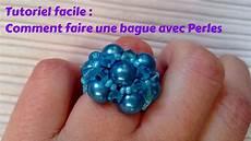 comment faire des bijoux en perles facile tutoriel bijoux pour d 233 butants bague en perles