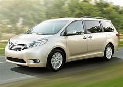 Recall Roundup Toyota Recalls Sienna Minivans For Sliding